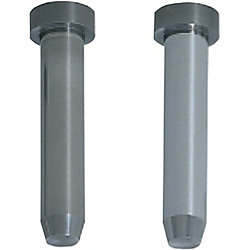 Carbide Straight Pilot Punches for Fixing to Stripper Plates  -Tapered Tip Type- Normal, Lapping