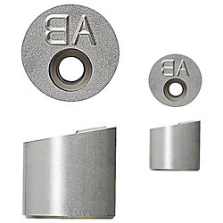 Engraving Punches for Slanted Surface