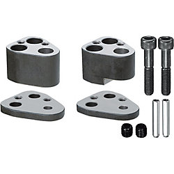 Heavy Duty End Retainer Sets for High-Tensile Steel, for NC Machining, Punches for Heavy Load
