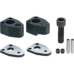 End Retainer Sets for NC Machining, Single Bolt Type, 25mm Thick