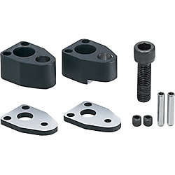 End Retainer Sets for Edge-matching Machining, Single Bolt Type, 25mm Thick