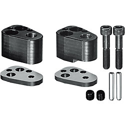 End Retainer Sets for Edge-matching Machining, for Heavy Load Punches