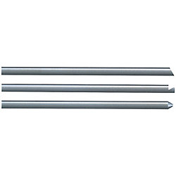 Straight Ejector Pins With Tip Processed -Die Steel SKD61+Nitrided/Shaft Diameter・L Dimension Designation Type-