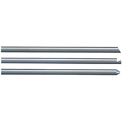 Straight Ejector Pins With Tip Processed -Die Steel SKD61/4mm Head/Shaft Diameter・L Dimension Designation Type-