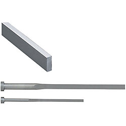 C-Chamfered Rectangular Ejector Pins -High Speed Steel SKH51/P・W Tolerance 0_-0.01/Free Designation Type-