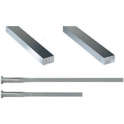 Precision Rectangular Ejector Pins With Engraving-High Speed Steel SKH51/4mm Head/P・W Tolerance 0_-0.005 Type-