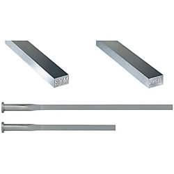 Rectangular Ejector Pins With Engraving -High Speed Steel SKH51/4mm Head/P・W Tolerance 0_-0.01 Type-