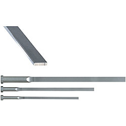 R-Chamfered Rectangular Ejector Pins For Large Mold -High Speed Steel SKH51/P・W Tolerance 0_-0.02/Free Designation Type-