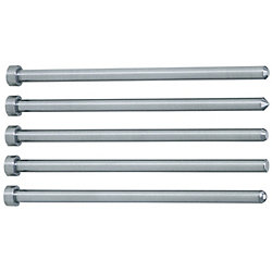 Straight Center Pins With Tip Processed -High Speed Steel SKH51/Shaft Diameter (P) Designation (0.01mm Increments) Type-