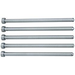 Straight Center Pins With Tip Processed -Die Steel SKD61+Nitriding/Shaft Diameter (P) Designation (0.1mm Increments) Type-