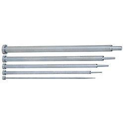 One-Step Center Pins -High Speed Steel SKH51/Shaft Diameter (D) Selection/Shaft Diameter Tolerance -0.01_-0.02 Type-