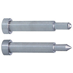 Precision Taperless One-Step Core Pins -Shaft Diameter (P) Designation (0.005mm Increments) /Shaft Diameter Tolerance 0_-0.005/A Tolerance 0_-0.005 Type-