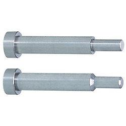 Taperless One-Step Core Pins -Shaft Diameter (P) Designation (0.01mm Increments) /Shaft Diameter Tolerance 0_-0.005/A Tolerance 0_-0.01 Type-