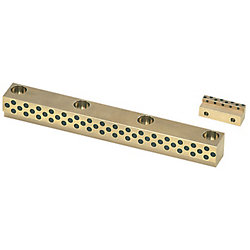 Oil-Free Heel Guide Rails -Bolt Hole Pitch Designation Type (Heel Height 8mm/Copper Alloy) -