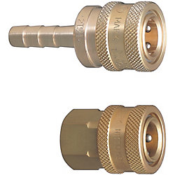 Valveless TSP Couplers For Cooling -Sockets-