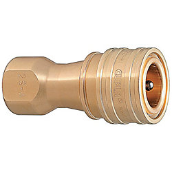 Double Valves SP Couplers For Cooling -Sockets/Male Screw Type-