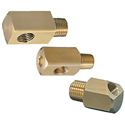 Tapered Screw Conversion Plugs -Female・Male L-Shaped Conversion Joints-