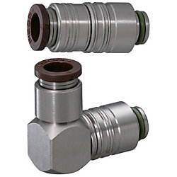 Quick-Fitting Joints For Mold Cooling -Separate Plugs・Sockets (Heat-Resistant 120degree Series)/Plugs-