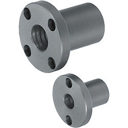 Oil Free Bushings / Oil Free Bushing Housing Units - Blocks - Flanged