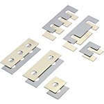 Square Shims - Slotted and Round Holes