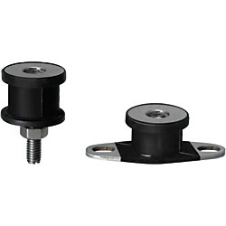 Electroconductive Antivibration Rubber Mounts/One End Threaded/One End Tapped