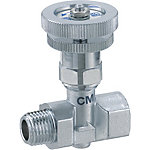 Needle Valve/PT Female/Male Threads