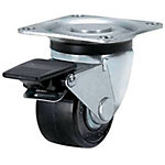 Casters - Low Profile - Swivel / Fixed / Stopper