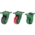 Cast Frame Casters - Heavy Load