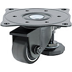 Casters with Adjustment Pads/Light Load Type