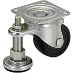 Casters with Adjustment Pads/Heavy Load/Integrated Type