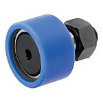 Cam Followers/With Resin Roller/Hex Hole/Flat Type/Retaining Ring