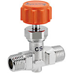 Needle Valve/PT Male/Threadeds/Stainless Steel