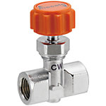 Needle Valve/PT Female/Tappeds/Stainless Steel