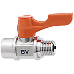 Compact Ball Valves/Brass/PT Tapped/PF Tapped
