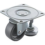 Casters with Leveling Mounts - Ultra Light Load Type