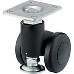 Casters for Aluminum Frames - with Leveling Mounts Light Load Type