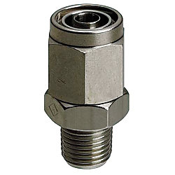 Couplings for Tubes/Nut and Sleeve Integrated/Straight