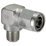 Couplings for Tubes - Nut and Sleeve Integrated Type - Half Elbows