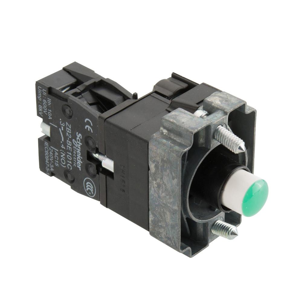 XB2B金属系列  带灯按钮基座