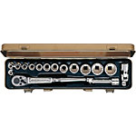 Socket Wrench Set (Hexagonal and 12-Sided Type)