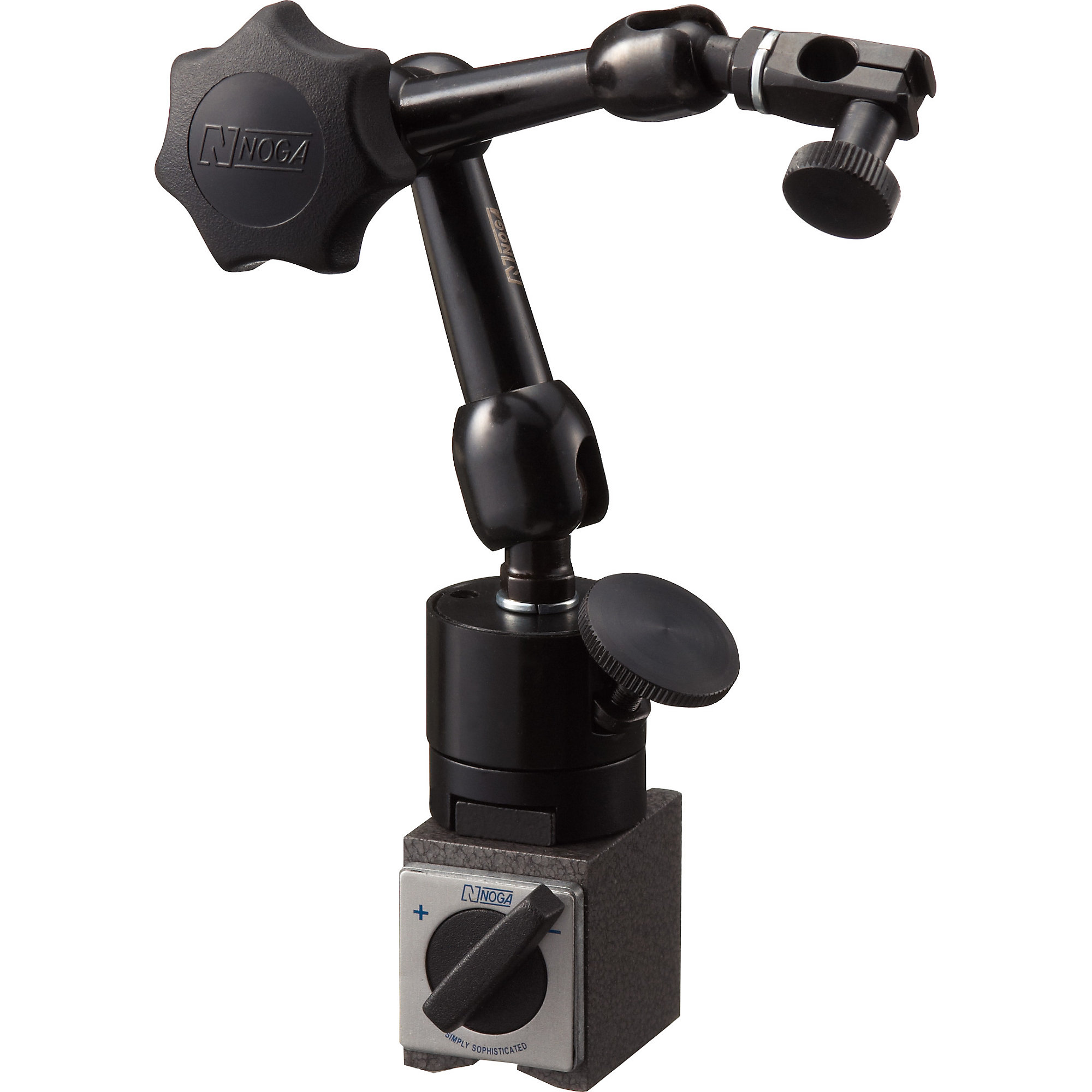 Dial Gauge Magnet Holder For Mounting Test Indicator Arm Type Noga Power Guard Hand Fine Adjustment System