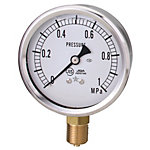 General Purpose Glycerin Pressure Gauge (A Frame Vertical Type / Diameter φ60)