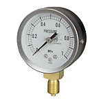 JIS General Purpose Pressure Gauge (A Frame Vertical Type / φ60 / Straight Thread)