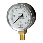 JIS General Purpose Pressure Gauge (A Frame Vertical Type / φ60 / Tapered Thread)