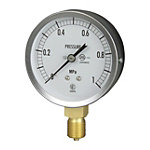 JIS General Purpose Pressure Gauge (A Frame Vertical Type / φ75)