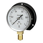 JIS General Purpose Pressure Gauge (B Frame Vertical Type / φ75)
