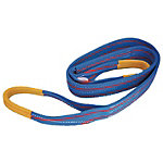Belt Sling, Blue Sling (Class JIS3/Eye Loops at Both Ends)