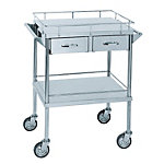 Stainless Steel Wagon (SUS304 / 2-Line Drawer-Attached)