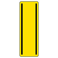 Oblong Rectangular Sticker (Vertical)