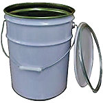 Taper Band Type Pail Can BT-20 (Inner Rust-Preventing Coating Included)